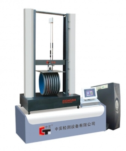 plastic pipe testing machine